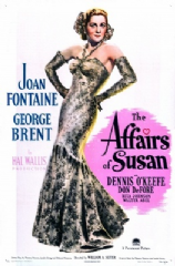 The Affairs of Susan 1945 DVD - Joan Fontaine / George Brent